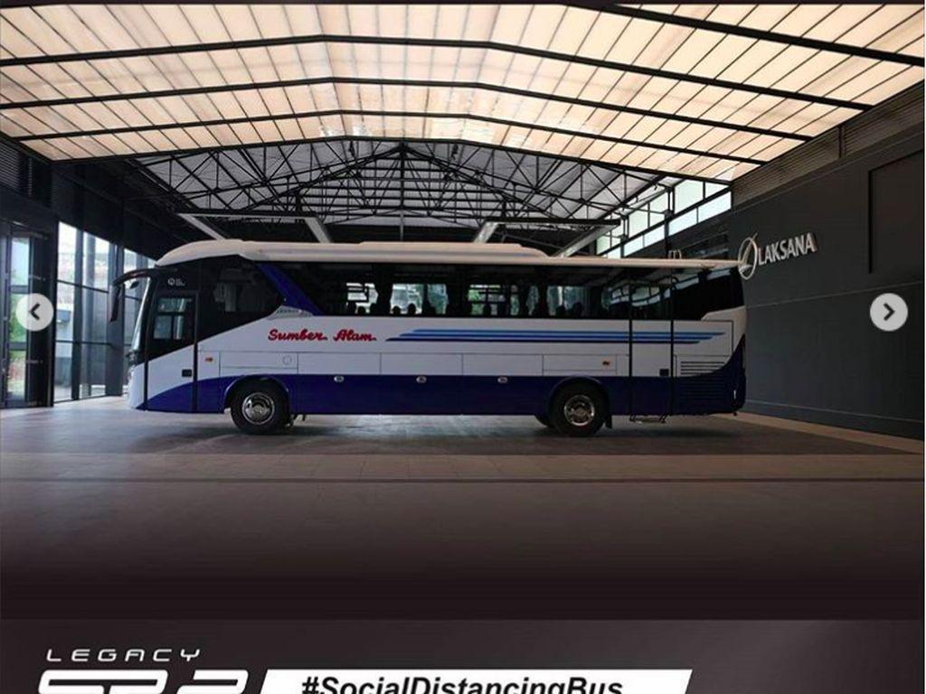 Bus Akap Melenggang, Mudahkan Pemerintah Pantau Pergerakan Masyarakat