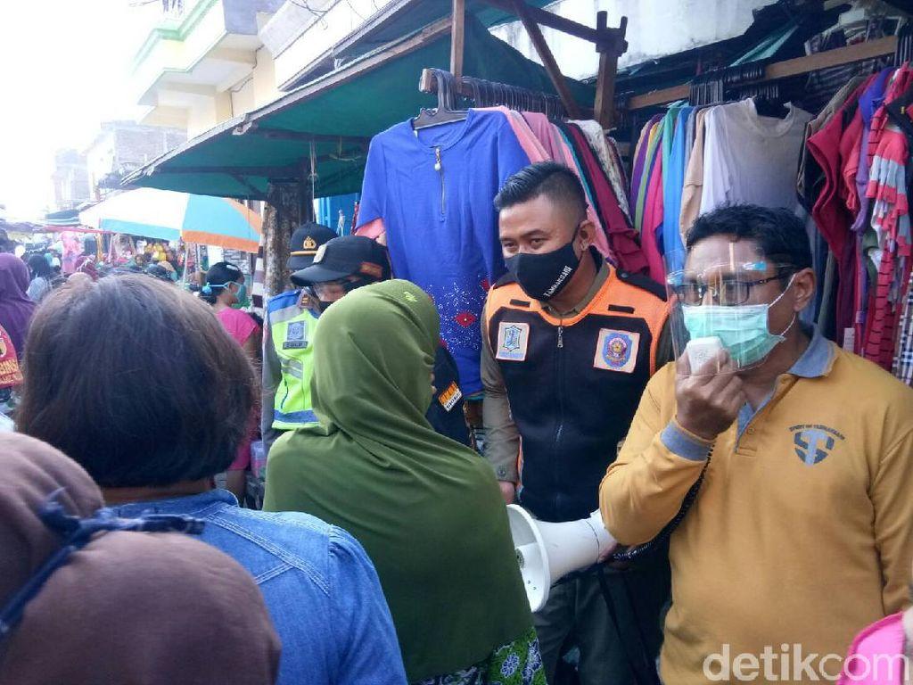 Ada Razia Masker Serentak di Pasar Tradisional Surabaya, Hasilnya?