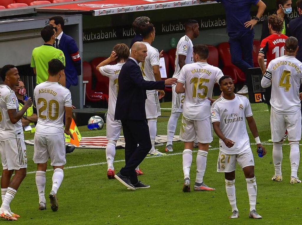 Real Madrid Delapan Poin Menuju Gelar Juara LaLiga