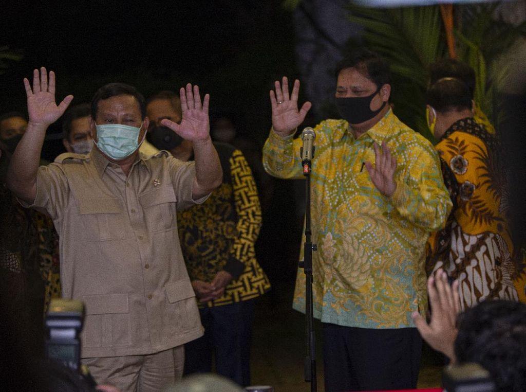 Prabowo-Airlangga Ngaku Cocok Berkoalisi di Sejumlah Daerah Pilkada 2020