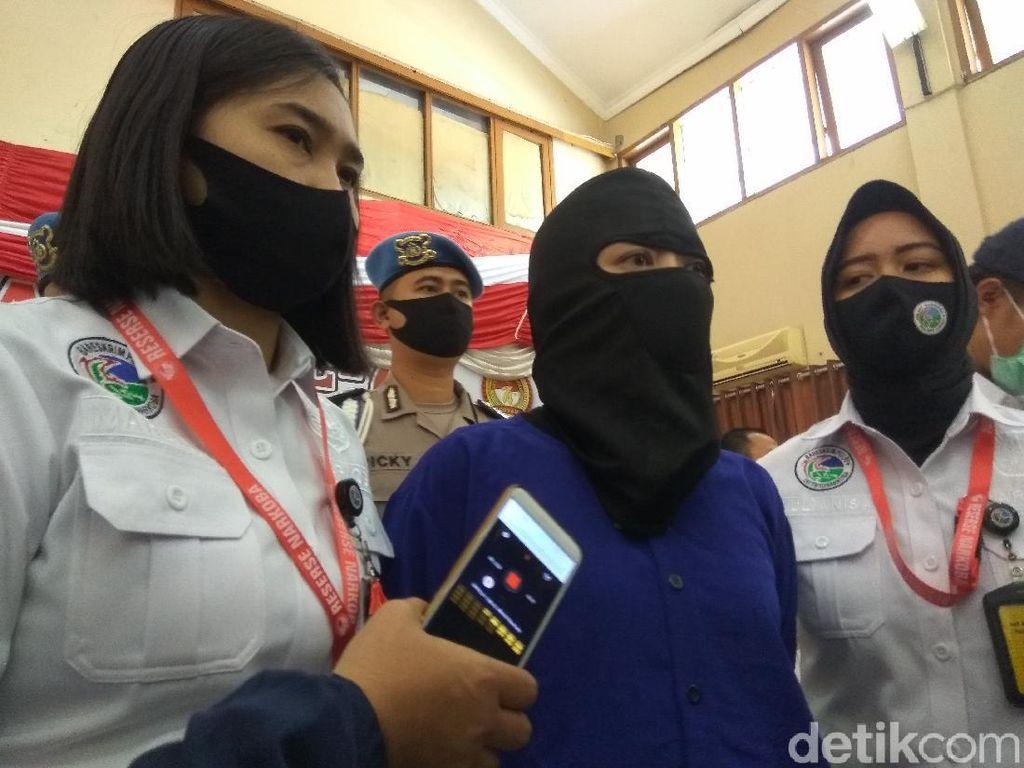 Biduan di Bandung Jadi Pengedar Sabu Jaringan Lapas