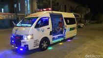 Wow, Ada Ambulans Disko di Pasuruan