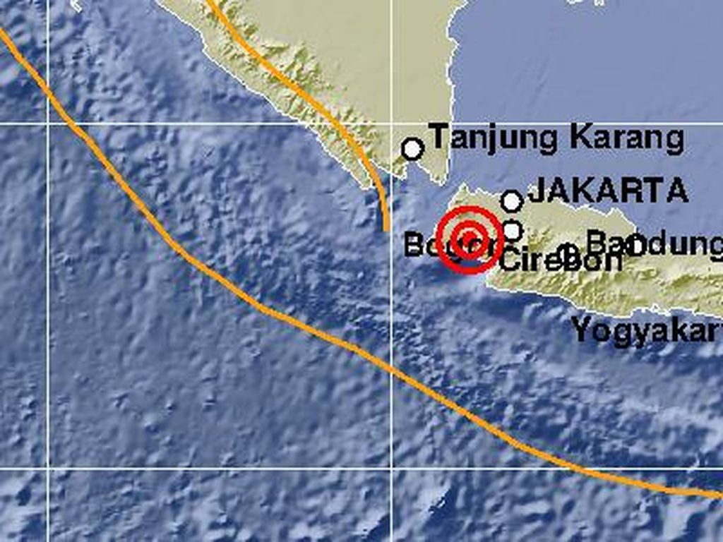 Gempa di Jakarta Hari Ini, Warga Heboh di Twitter