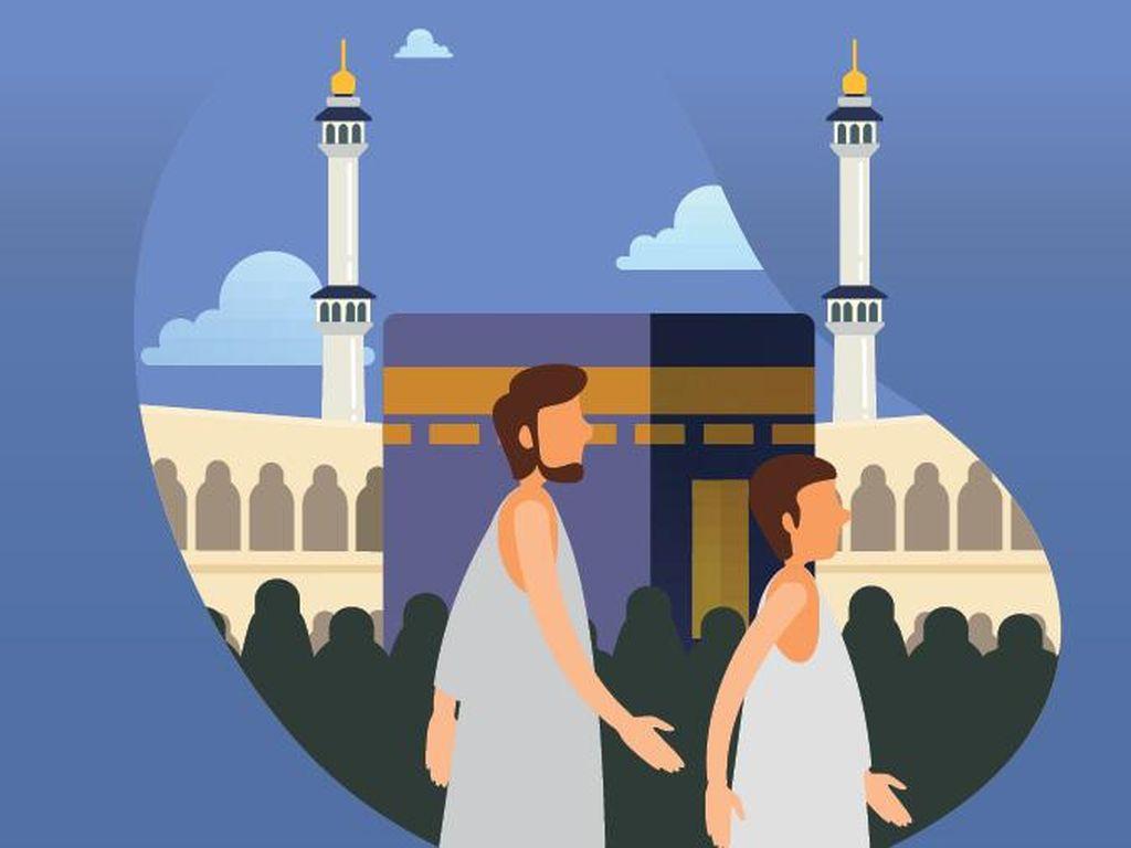 Jamaah Haji 2020 Jalani Isolasi Mandiri 7 Hari