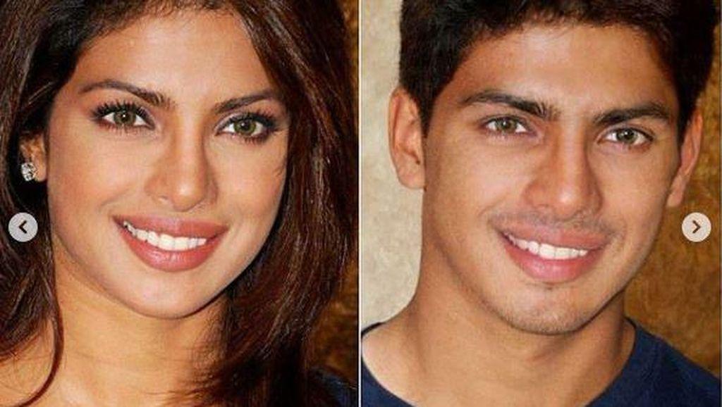 Ini Hasil Editan Foto Kajol dan Preity Zinta Versi Cowok, Ganteng!