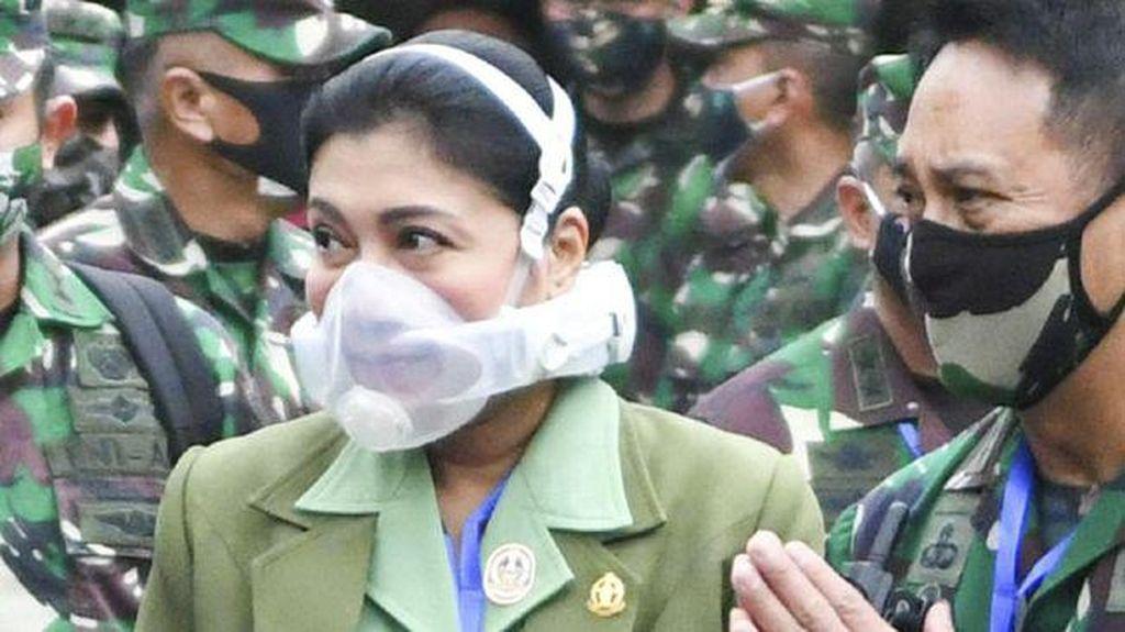 Ini Fakta Masker Canggih yang Dipakai Istri KSAD