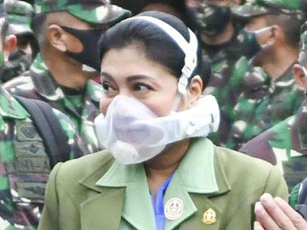 Tak Harus Secanggih Masker Istri KSAD, untuk Medis N95 Dinilai Sudah Cukup