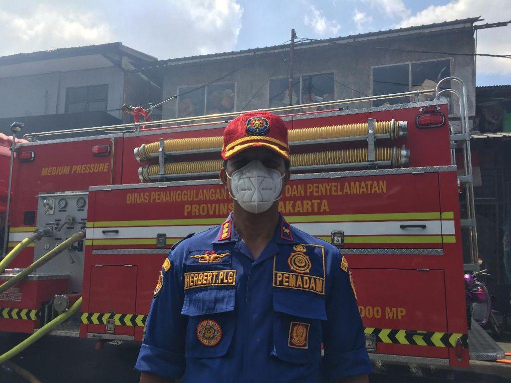 Tak Ada Korban Jiwa Dalam Kebakaran 40 Toko Di Manggarai Jaksel