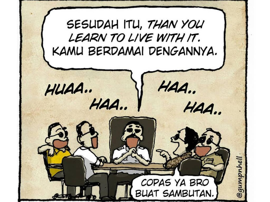 Komik Gump n Hell Tampilkan Lelucon Gus Dur hingga Anak Papua