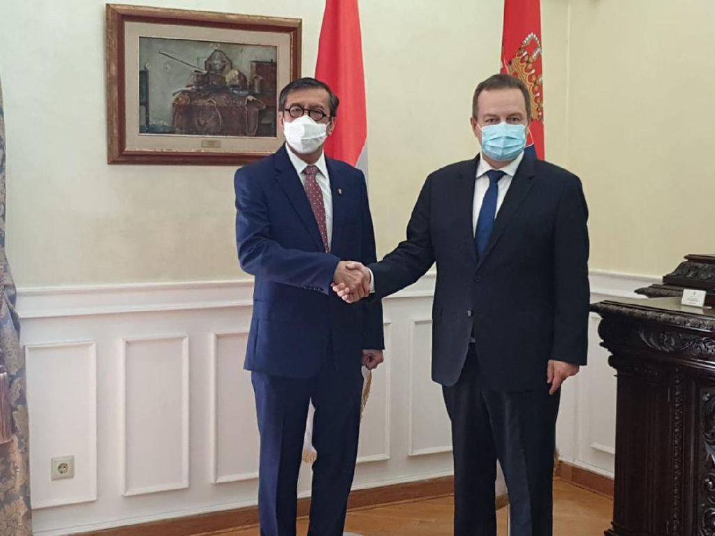 Menkum Yasonna Tegaskan Dukungan RI terhadap Serbia dalam Konflik dengan Kosovo