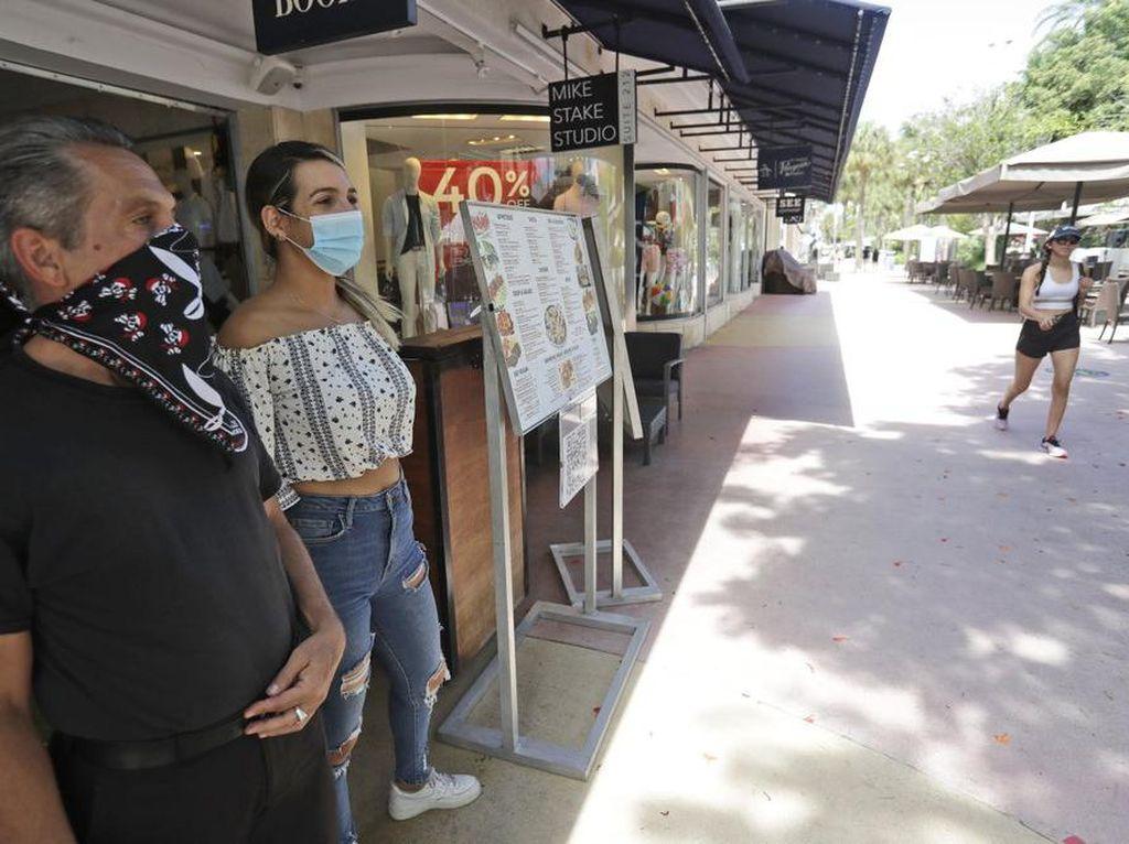 RS Kewalahan Tangani Pasien Corona, Miami Tutup Lagi Restoran