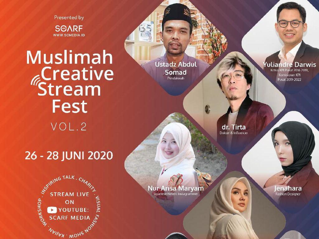 Muslimah Creative Stream Fest 2020, Talkshow hingga Fashion Show Online