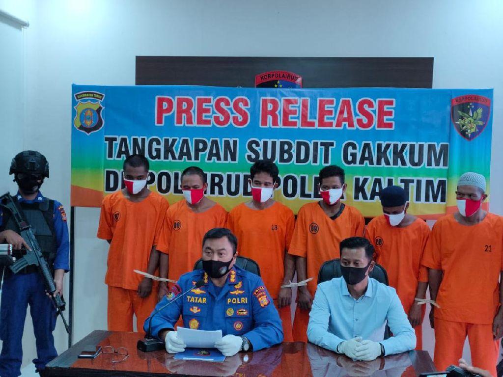 Polisi Ungkap Kasus Pencurian Batu Bara di Atas Kapal Tongkang di Kaltim