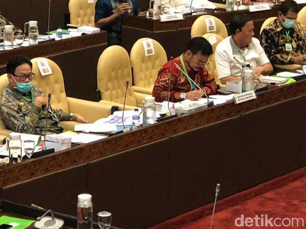 Bahas Anggaran dengan DPR, Mentan Disentil soal Lumbung Pangan Kalteng