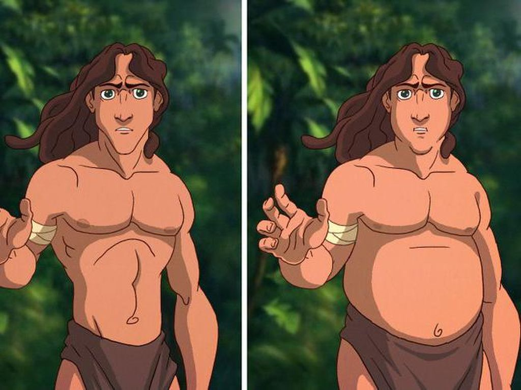 Begini Jadinya Pangeran Disney Diedit Jadi Chubby