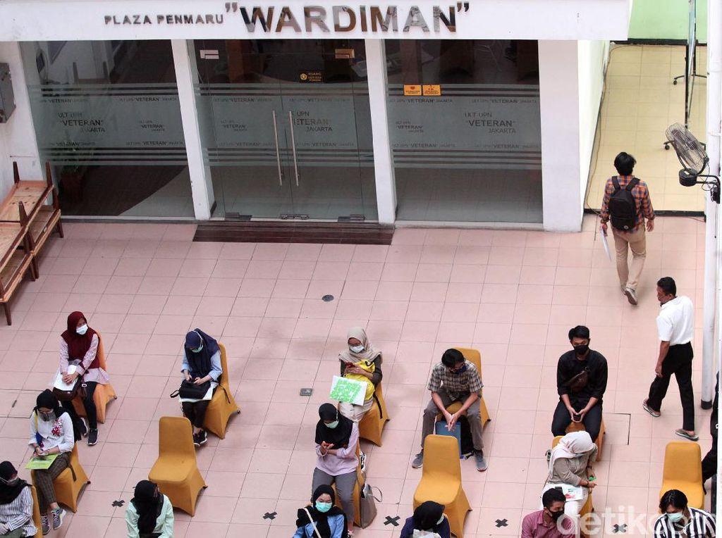 562 Orang Gugur UTBK Gelombang I & II di UPN Veteran Jakarta