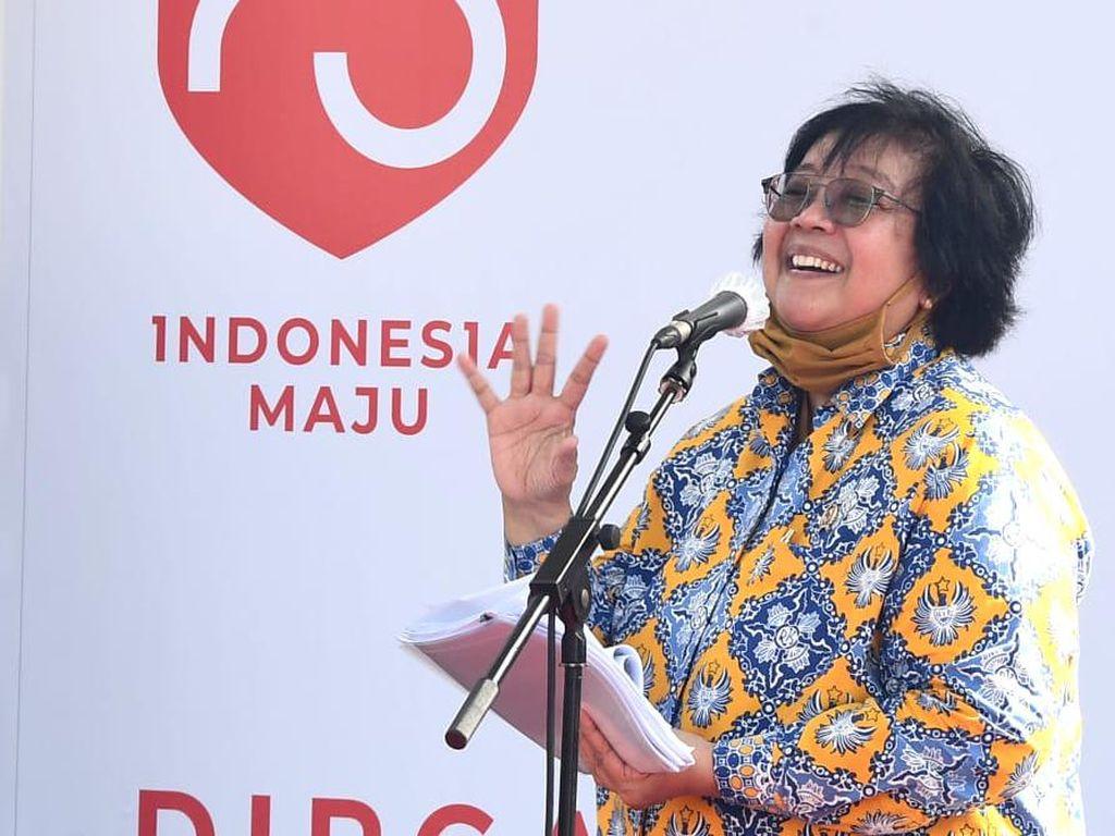 Menteri LHK Bersyukur Tidak Ada Duet Maut Asap dan Corona di Riau