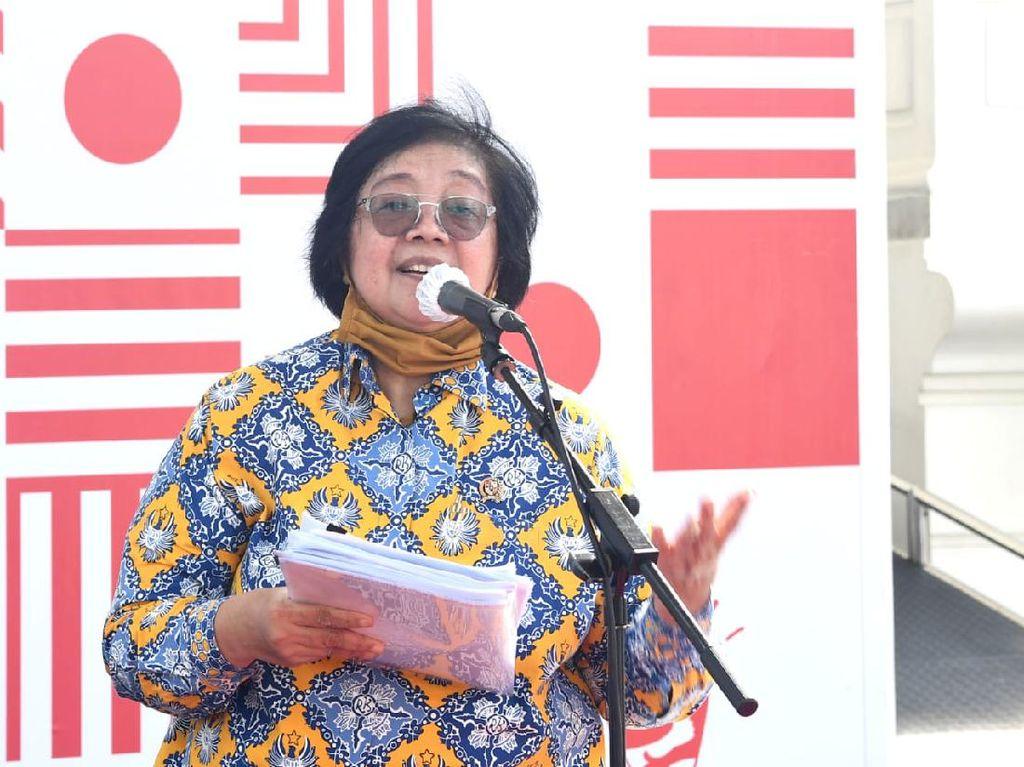 Pesan Mensos-Menteri LHK ke Siswa SMAN 8 Jakarta di Edufair 2020