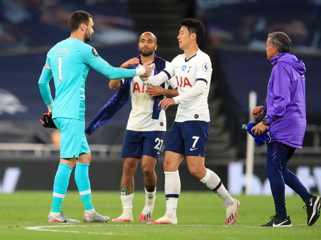 Lloris dan Son Ribut Tanda Tottenham Ingin Menang