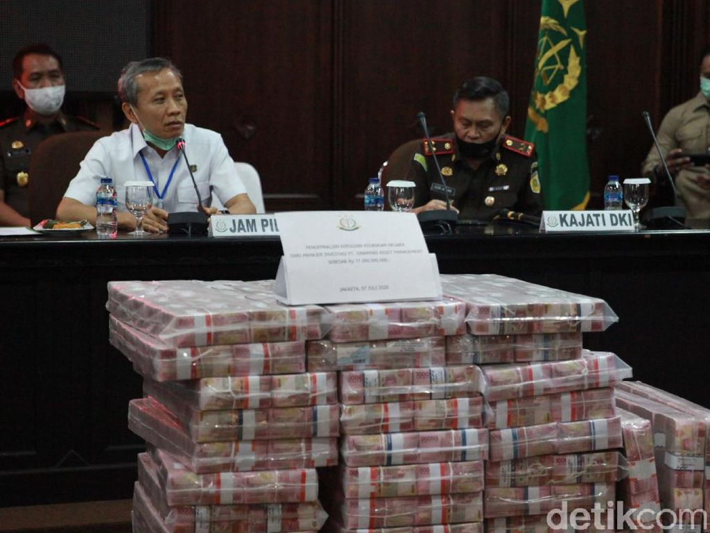 Kejagung Eksekusi Uang Tunai Rp 97 M di Kasus Honggo Wendratno
