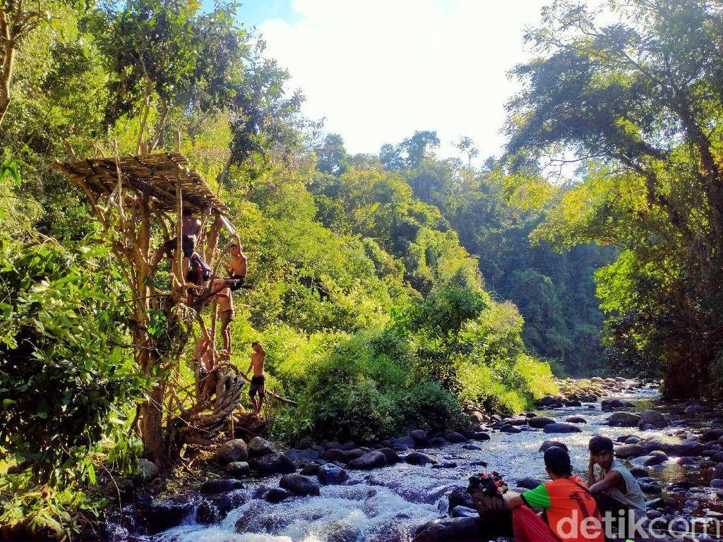 Sori Nae, Suasana Hutan yang Sejuk dan Asri di Desa Saneo NTB