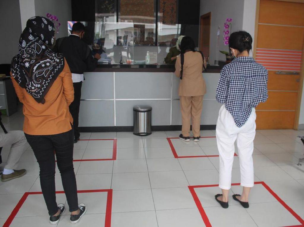 Bank BUMN di Malang yang Diterpa Hoaks COVID-19 Terapkan Protokol Kesehatan