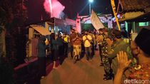 Sembuh Usai Berperang Lawan Corona, Pria Ini Disambut Warga Bak Pahlawan