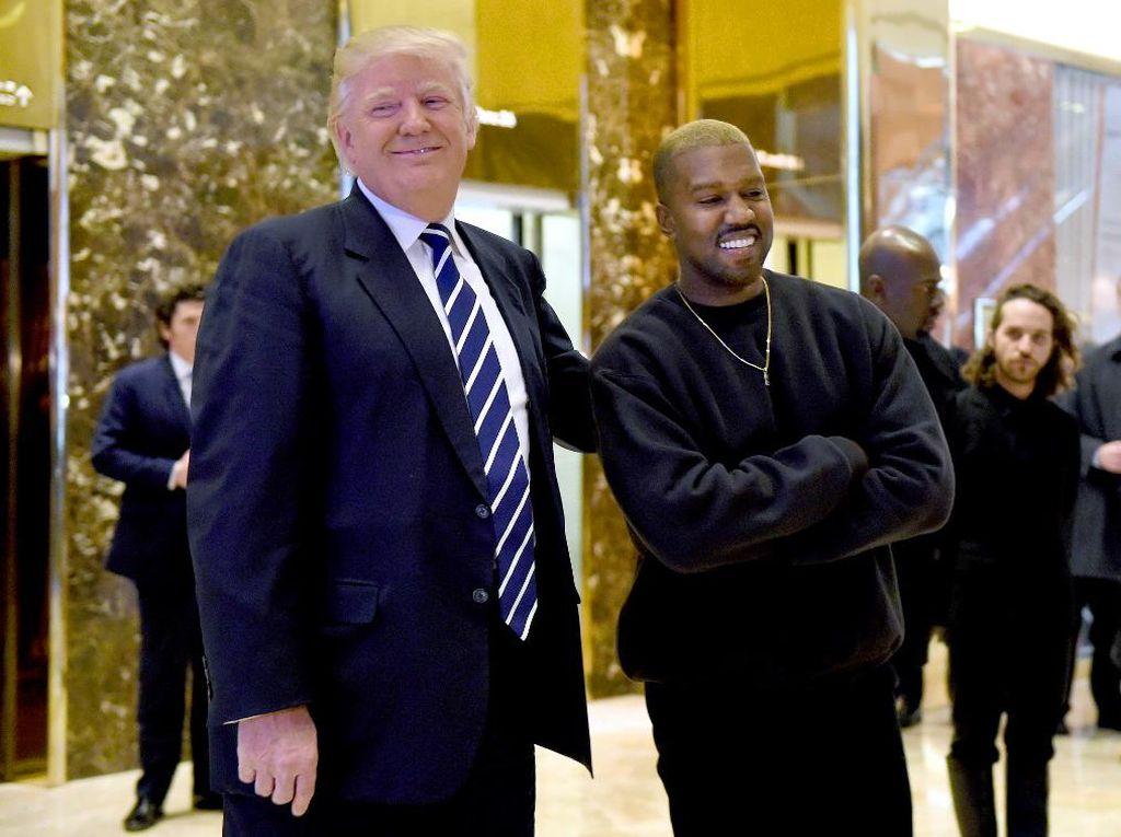 Trump Komentari Pencalonan Kanye West Jadi Presiden AS