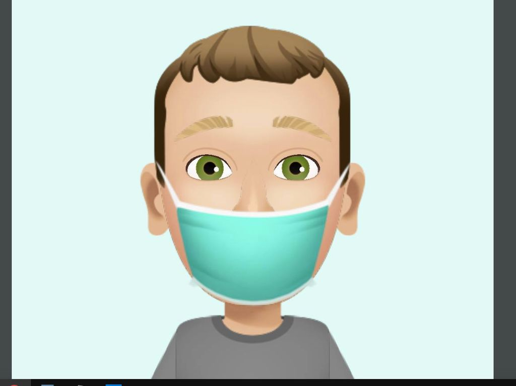 Ajak Facebooker Pakai Masker, Zuckerberg Ganti Profile Picture