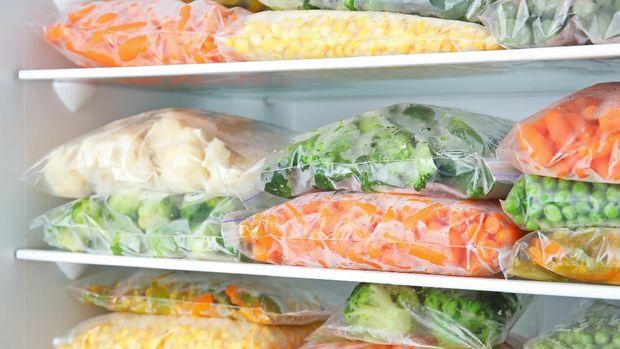 ilustrasi Frozen food
