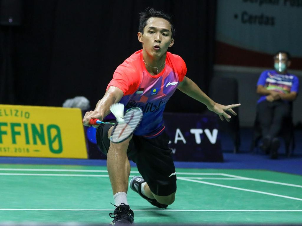 Hasil PBSI Home Tournament Tunggal Putra Sesi 2