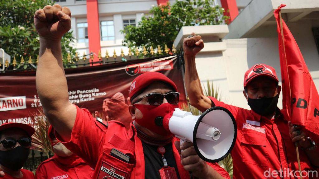 Kantor DPP PDIP Didemo Kader Sendiri