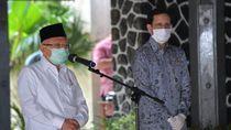 Kunker ke Sukabumi, Maruf Amin Minta Inovasi di Sekolah-Pasar Cegah Corona