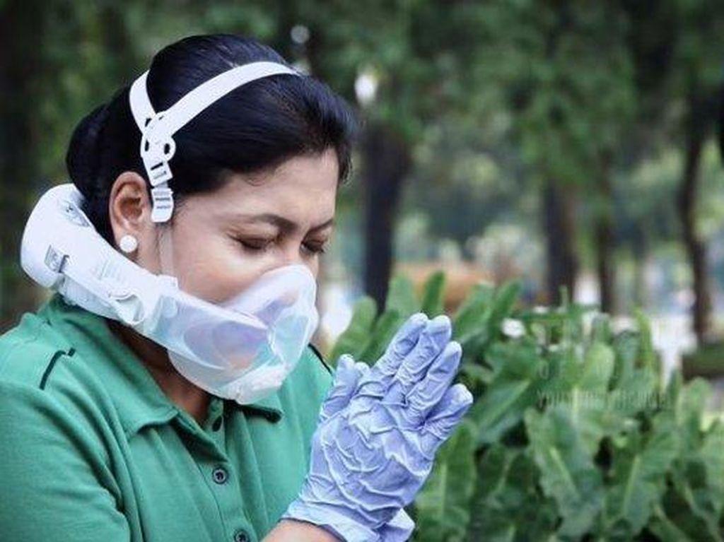 5 Fakta Seputar Masker Viral Milik Istri KSAD