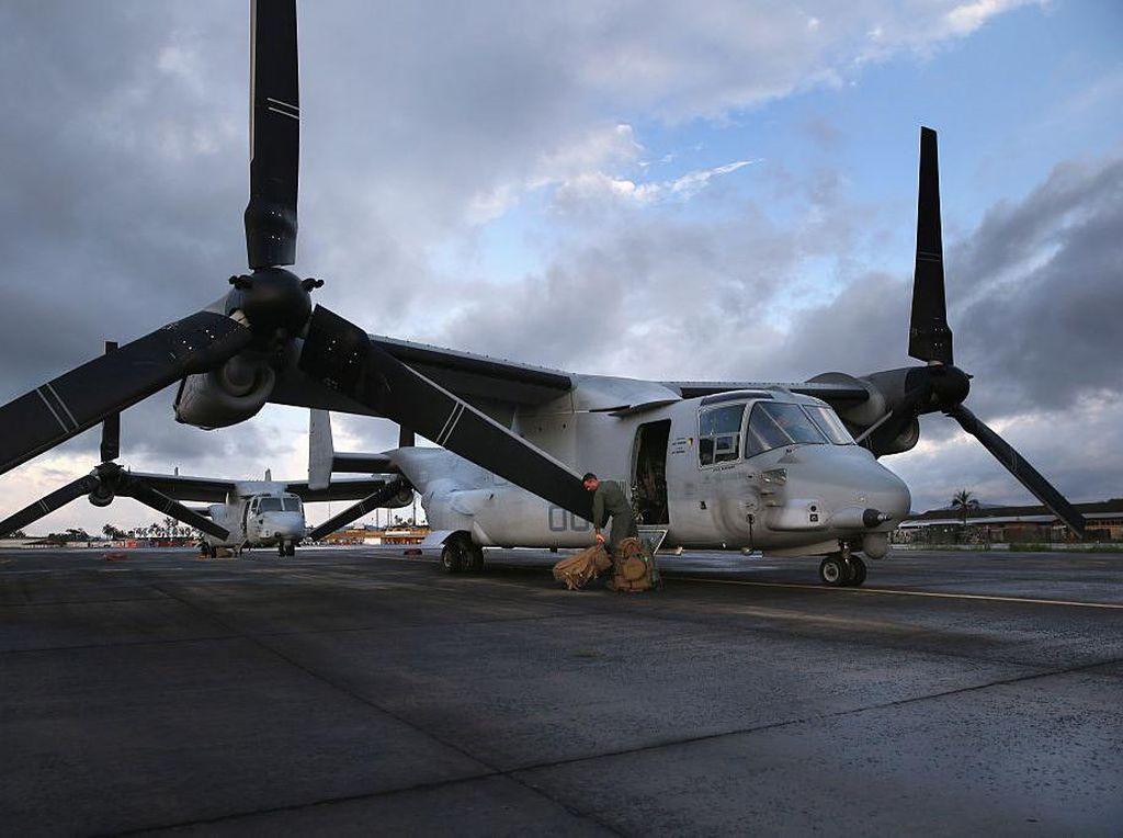 Total Rencana Belanja Pesawat MV-22 Osprey dari AS Senilai Hampir Rp 29 T