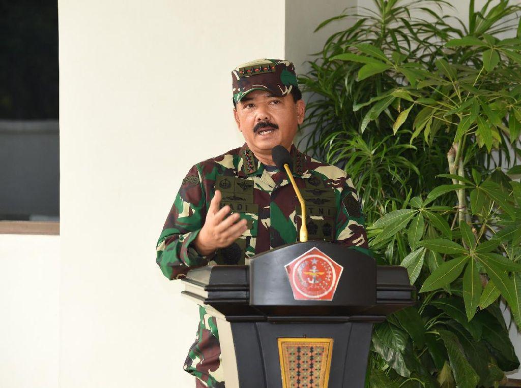 Panglima Hadi ke Capaja: Ingat, TNI-Polri Aset Strategis Bangsa dan Negara