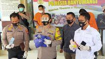Polresta Banyuwangi Ungkap 8 Kasus Kriminal, Satu Pelaku Didor Bagian Kaki