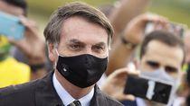 Lepas Masker Saat Konferensi Pers, Presiden Brasil Akan Digugat