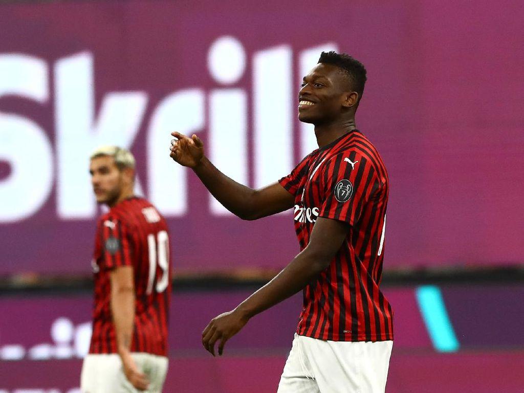 Aksi Supersub Rafael Leao di Laga Milan Vs Juventus