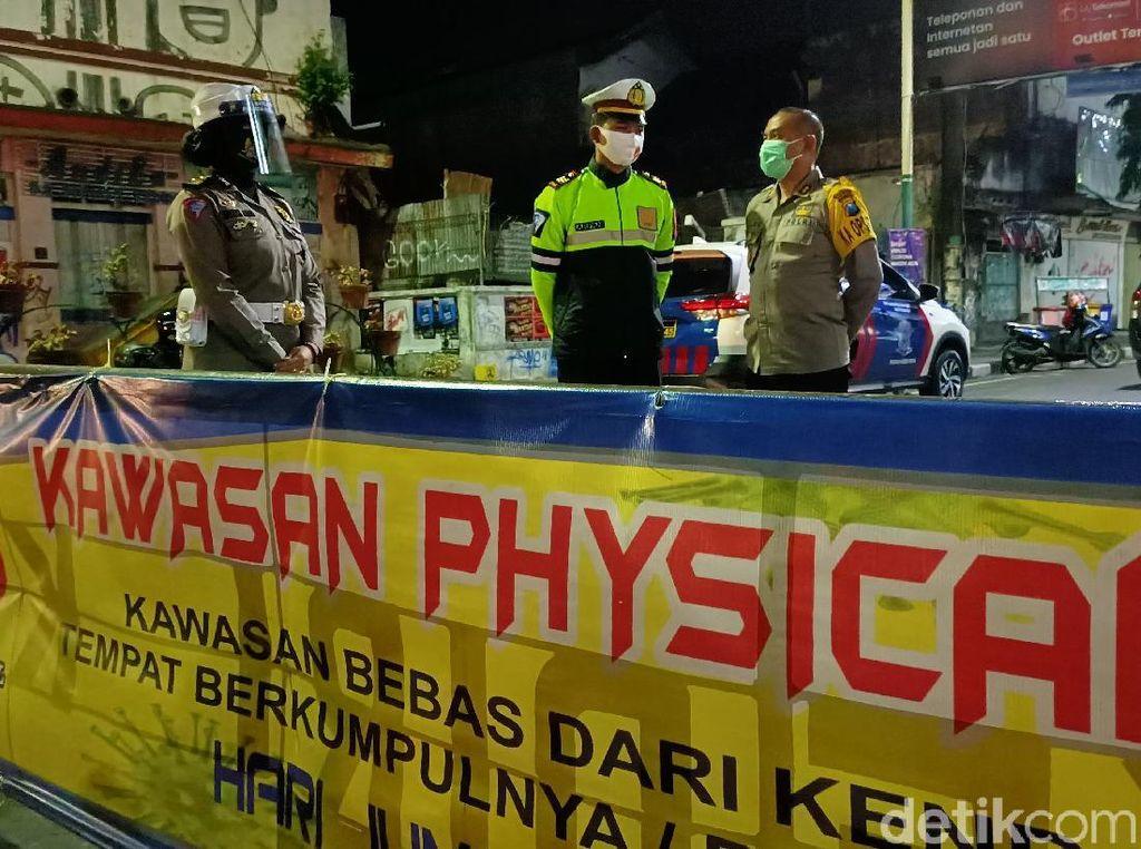 Masyarakat Mulai Abai COVID-19, Sejumlah Jalan di Kota Kediri Ditutup