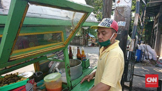 Sugianto, penjual bubur ayam