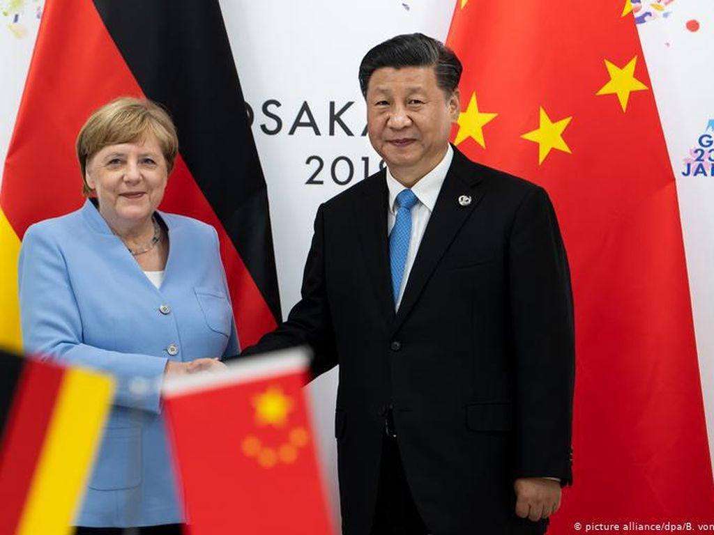 Tekanan Meningkat bagi Angela Merkel untuk Tekan China Soal Hong Kong