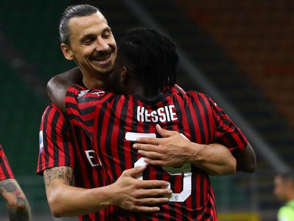Zlatan Ibrahimovic Bikin AC Milan Kembali Ditakuti