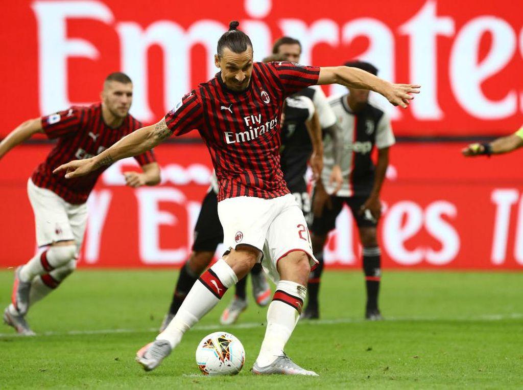 Ronaldo dan Ibrahimovic Sama-sama Cetak Gol, yang Beda Hasilnya