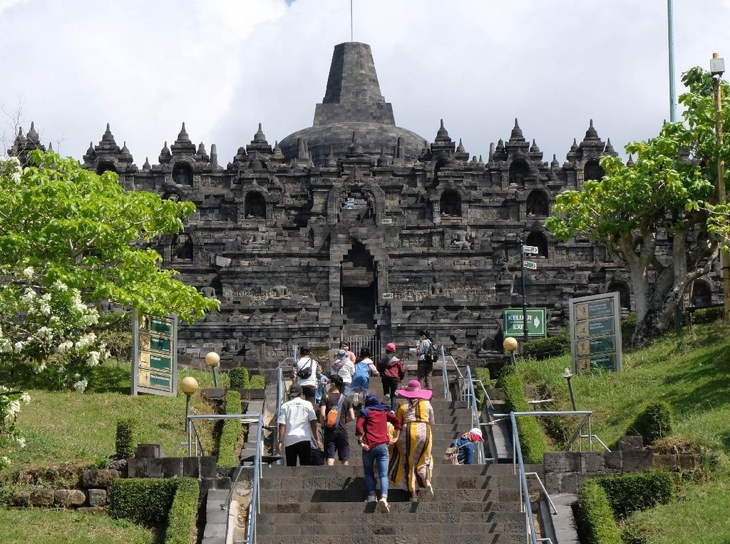 Yes! Zona 1 Candi Borobudur Resmi Dibuka