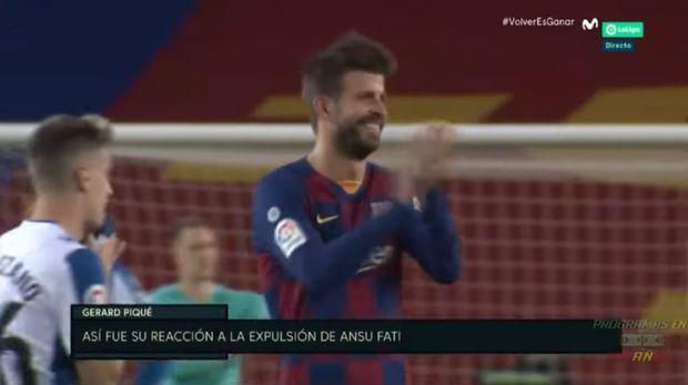 Barcelona Vs Espanyol, Gerard Pique