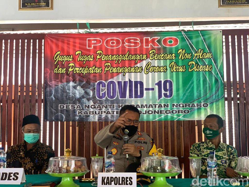 Selama Pandemi COVID-19, Warga Bojonegoro Diajak Jadi Polisi Diri Sendiri