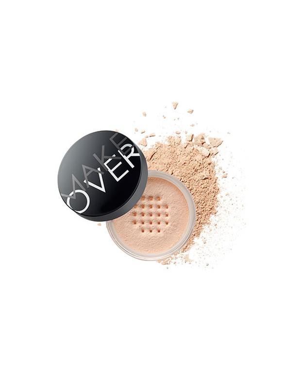 Loose powder dari Make Over yang bertajuk 'Silky Smooth Transculent Powder' cocok dipakai buat aktivitas selama 'new normal'.