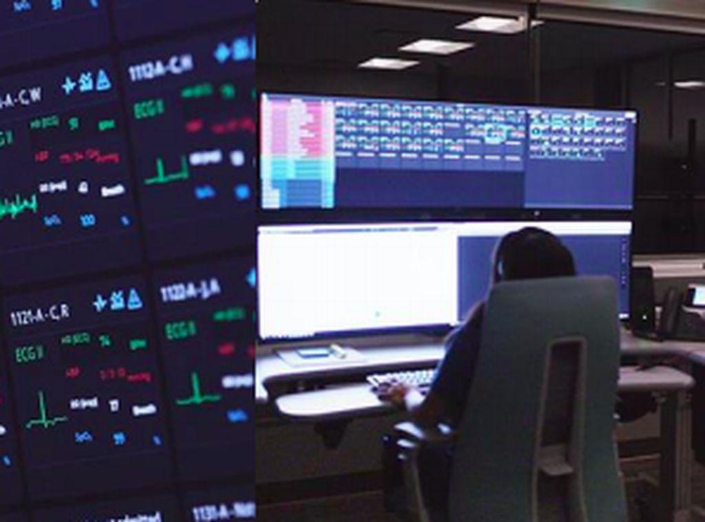 Teknologi ICU Virtual Minimalkan Kontak Langsung di Rumah Sakit