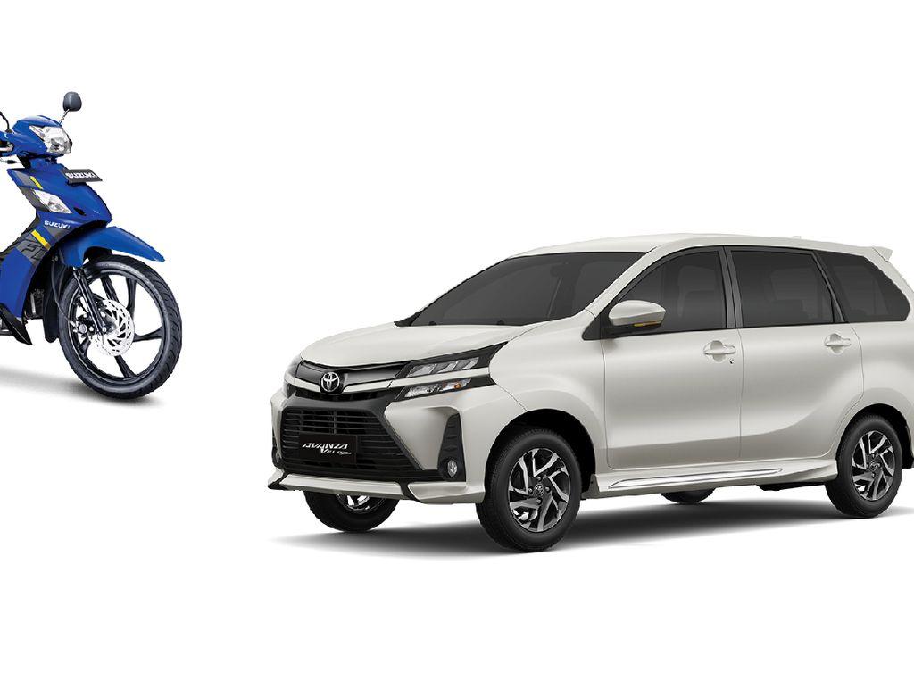 Penjualan Motor dan Mobil Diklaim Naik Signifikan pada Juni